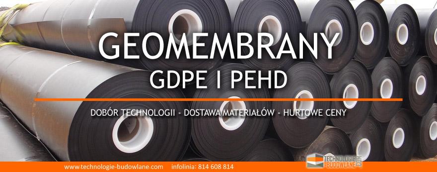 Geomebrany HDPE / PEHD
