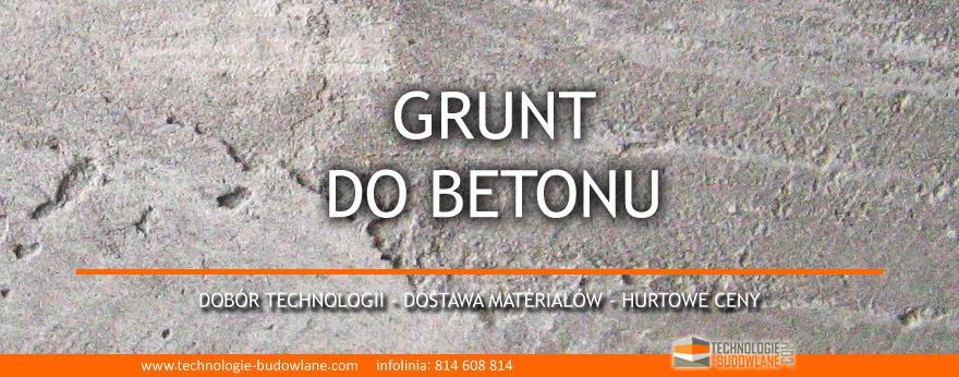 grunt do betonu