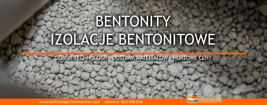 bentonit - izolacje bentonitowe