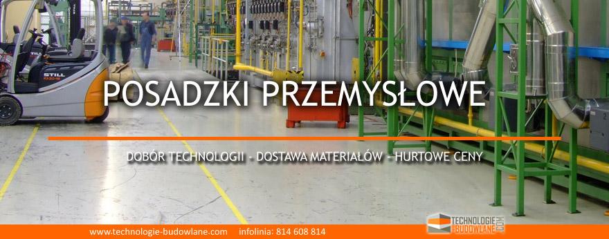 posadzki przemysłowe