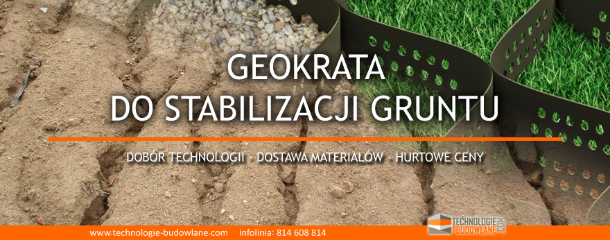geokrata do stabilizacji skarpy i gruntu