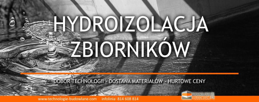 hyroizolacja zbiorników na wode