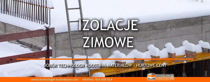 budowlane izolacje zimowe