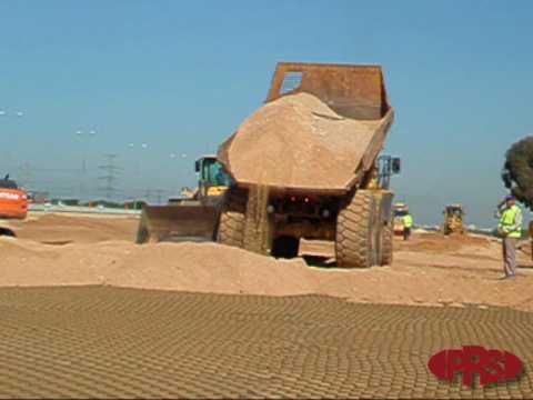 tymczasowe drogi oraz utwardzenie placu budowy