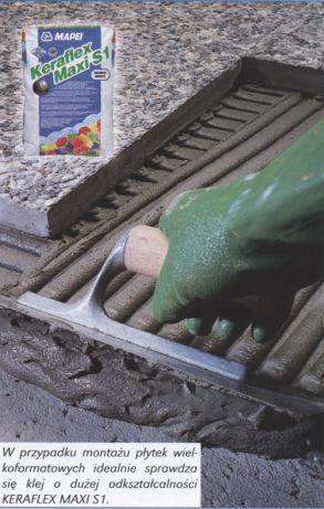 wykonanie tarasu izolacja - montaż plytek ceramicznych