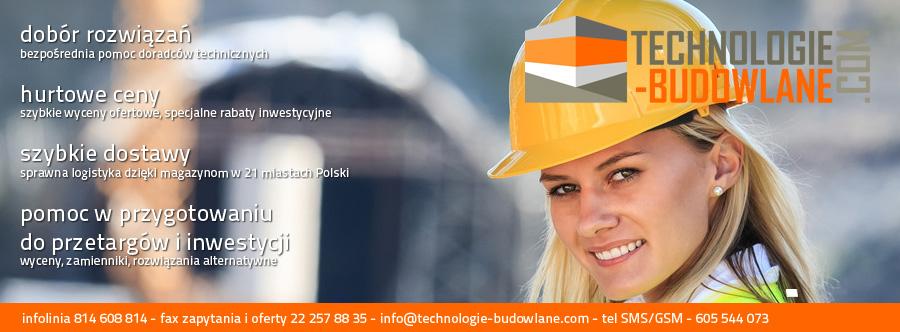 Technologie-Budowlane-Com - wizytówka serwisu