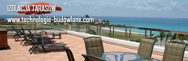 izolacja taras w technologie budowlane com. Black Bedroom Furniture Sets. Home Design Ideas